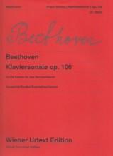Beethoven, L. van : Grande Sonata op. 106 Hammerklavier, per Pianoforte. Urtext