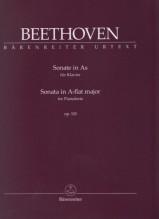 Beethoven, L. van : Sonata in la bemolle op. 110, per Pianoforte. Urtext