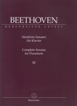 Beethoven, L. van : Sonate per Pianoforte, vol. III. Urtext