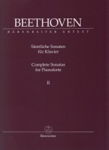 Beethoven, L. van : Sonate per Pianoforte, vol. II. Urtext