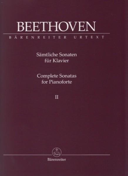 Beethoven, L. van : Sonate per Pianoforte, vol. II. Urtext