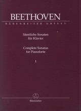 Beethoven, L. van : Sonate per Pianoforte, vol. I. Urtext