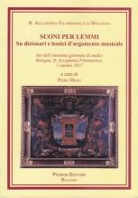 AA.VV. : Suoni per Lemmi. Su dizionari e lessici d'argomento musicale