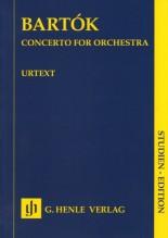 Bartók, B. : Concerto per Orchestra. Partitura tascabile. Urtext