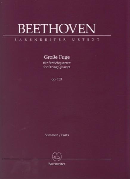 Beethoven, L. van : Grosse Fuge op. 133, set parti. Urtext