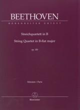 Beethoven, L. van : Quartetto d'archi op. 130, set parti. Urtext