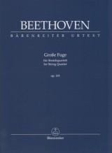 Beethoven, L. van : Grosse Fuge op. 133. Partitura tascabile. Urtext