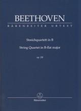 Beethoven, L. van : Quartetto d'archi op. 130. Partitura tascabile. Urtext