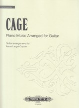 Cage, J. : Piano Music, arranged for Guitar