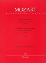 Mozart, Wolfgang Amadeus : Concerto K 449 per Pianoforte e Orchestra, riduzione per 2 Pianoforti. Urtext