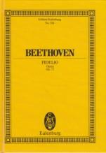 Beethoven, L. van : Fidelio. Partitura tascabile