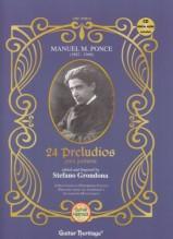Ponce, M. M. : 24 Preludes para Guitarra