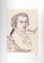 Wolfgang Amadeus Mozart. Stampa