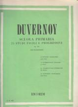 Duvernoy, J.B. : Scuola primaria del Pianoforte, op. 176. 25 Studi facili e progressivi