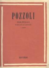 Pozzoli, E. : Solfeggi parlati e cantati. I Corso