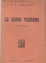 Pergolesi, G.B. : La serva padrona, libretto