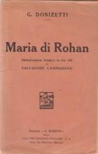 Donizetti, G. : Maria di Rohan, libretto