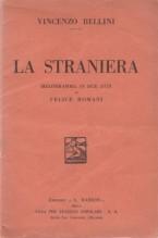 Bellini, V. : La straniera, libretto