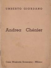 Giordano, U. : Andrea Chenier, libretto