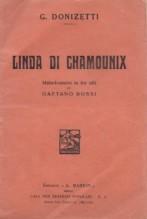 Donizetti, G. : Linda di Chamounix, libretto