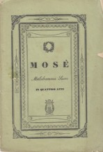 Rossini, G. : Mosè, libretto