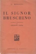 Rossini, G. : Il signor Bruschino, libretto