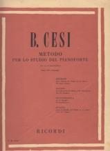 Cesi, B. : Metodo per lo studio del Pianoforte in 12 fascicoli. Vol. III: arpeggi