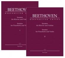Beethoven, L. van : Sonate per Violino e Pianoforte, 2 volumi. Urtext