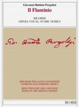Pergolesi, G. B. : Il Flaminio, per Canto e Pianoforte. Riduzione condotta sull'edizione critica