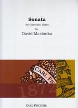 David Maslanka : Sonata for Oboe and Piano