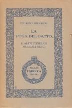 """Fornarini, E. : La """"Fuga del gatto"""" e altri itinerari musicali brevi"""