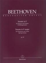 Beethoven, L. van : Sonata n. 5 op. 24 Primavera, per Violino e Pianoforte. Urtext