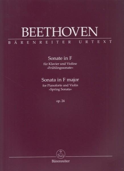 Beethoven, Ludwig van : Sonata n. 5 op. 24 Primavera, per Violino e Pianoforte. Urtext