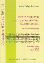 Telemann, Georg Philipp : Esercizi per il canto, gli strumenti [a tastiera] e il basso continuo. Singe-, Spiel- und Generalbassübungen. TWV 25:39-85
