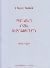 Fenaroli, F. : Partimenti ossia Basso numerato. Facsimile