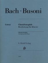 Bach, Johann - Busoni, Ferruccio : Chorale Preludes, arrangement for Piano. Urtext
