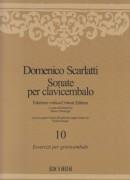 Scarlatti, Domenico : Sonate per Clavicembalo vol. X. Edizione critica