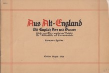 AA.VV. : From old England. Old English Airs and Dances, per Flauto dolce contralto e Clavicembalo