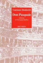 Donizetti, Gaetano : Don Pasquale. Libretto