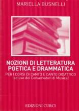Busnelli, M. : Nozioni di letteratura poetica e drammatica