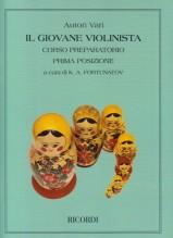 AA.VV. : Il giovane violinista. Corso preparatorio, prima posizione, per Violino solo