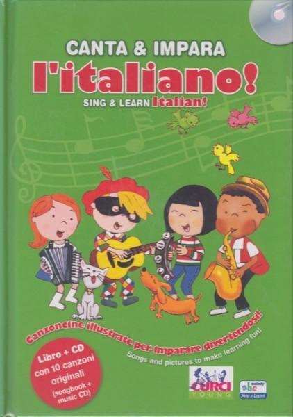 Husar, S. : Canta & Impara l'Italiano. Canzoncine illustrate per imparare divertendosi!