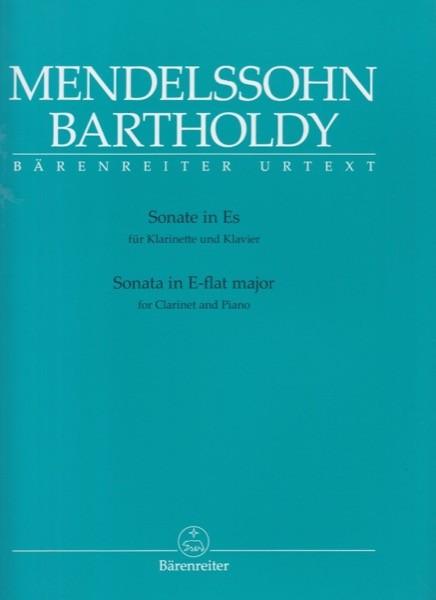 Mendelssohn Bartholdy, Felix : Sonata per Clarinetto e Pianoforte. Urtext
