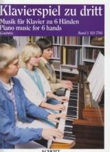 AA.VV. : Pezzi facili per Pianoforte a 6 mani, vol. III
