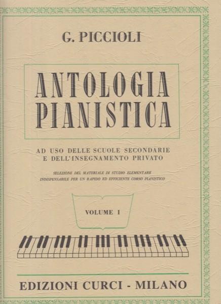 AA.VV. : Antologia Pianistica ad uso delle scuole secondarie e dell'insegnamento privato, vol. 1
