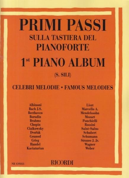 AA.VV. : Primi passi sulla tastiera del Pianoforte. Celebri melodie