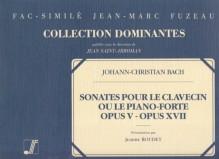 Bach, Johann Christian : [12] Sonates pour le Clavecin ou le Piano-forte. Op. V (ca. 1766); op. XVII (London, 1779). Facsimile