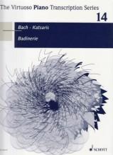 Bach, Johann Sebastian : Badinerie dalla suite nr. 2 BWV 1067, per Pianoforte