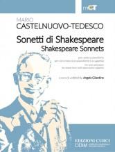 Castelnuovo-Tedesco, Mario : Sonetti di Shakespeare, per Canto e Pianoforte e per Coro misto (con Pianoforte e a Cappella)