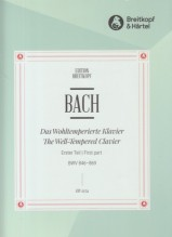 Bach, Johann Sebastian : Il Clavicembalo ben temperato, vol. I per Pianoforte
